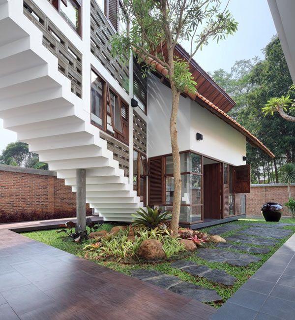 Gentil Modern Indonesian Houses U2013 A Beautiful Balance By TWS U0026 Partners · Tropical House  DesignTropical ...