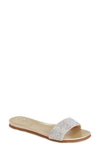 6cf8c9b2ebc Vince Camuto  Endilla  Crystal Slide Sandal (Women) available at  Nordstrom