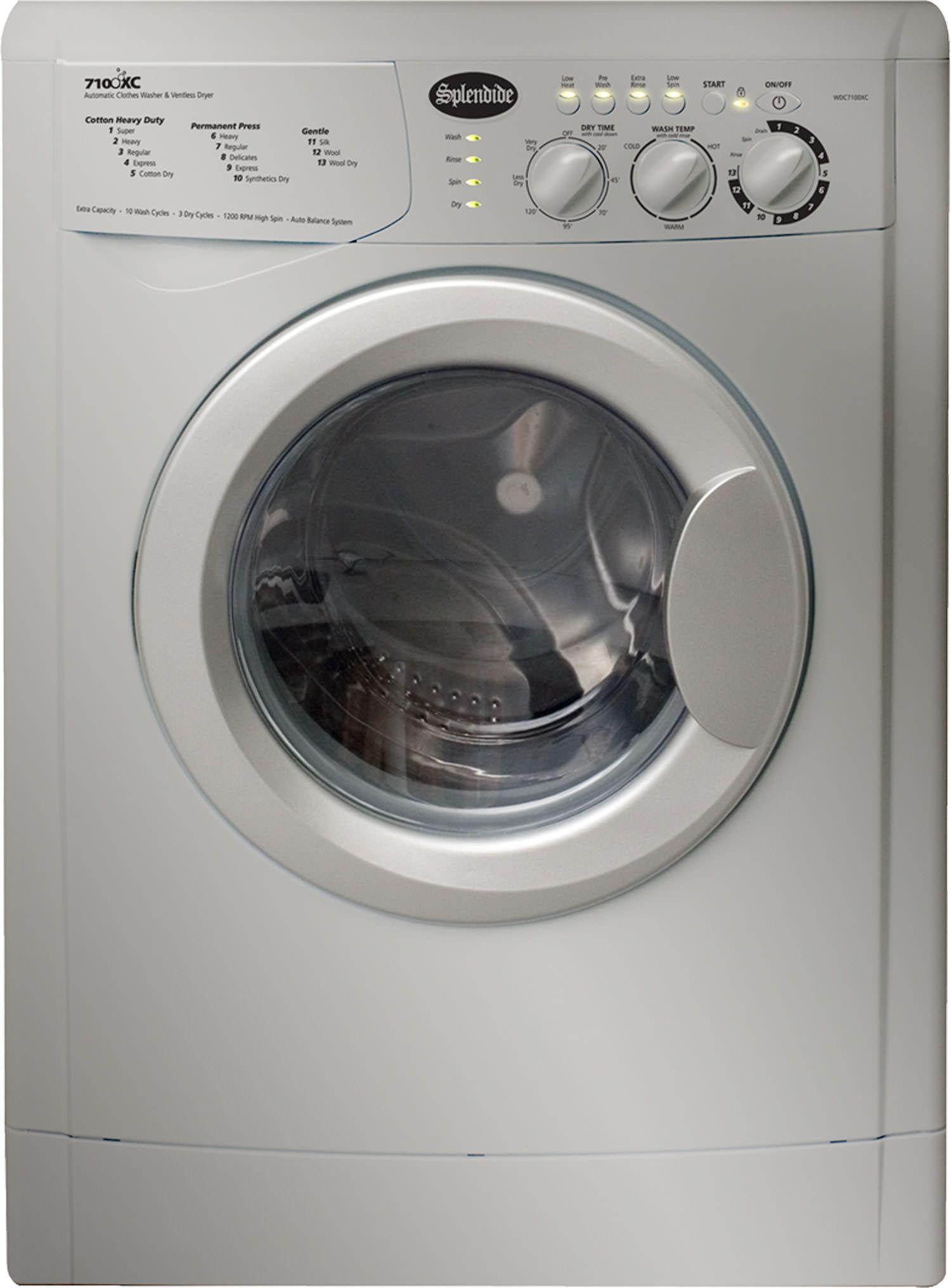 Splendide 7100xc Washer Dryer Platinum Laundry Room Laundry Room Storage Laundry