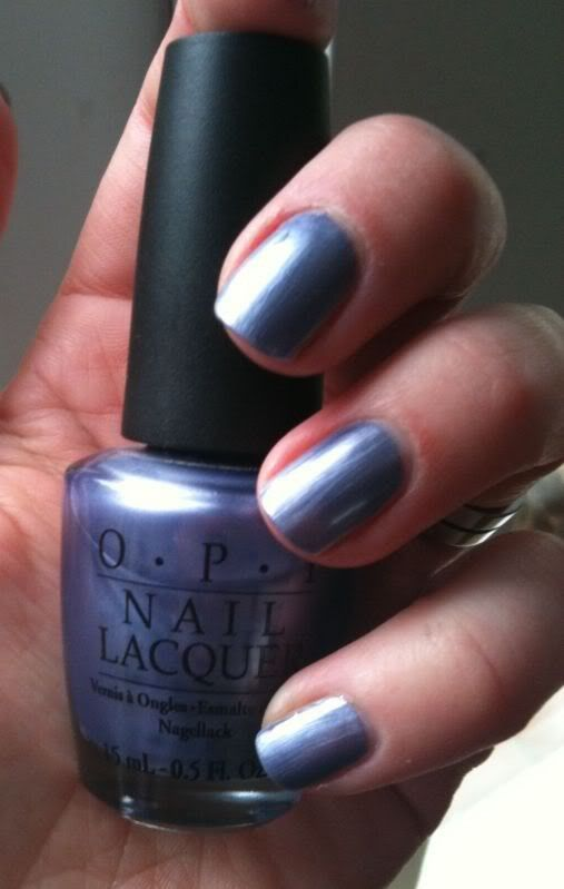Opi Gunmetal My Favorite Color