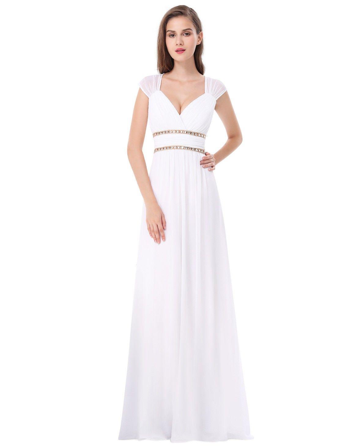 Nett Grecian Brautjungfer Kleid Zeitgenössisch - Hochzeit Kleid ...