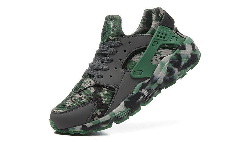 Nike Air Huarache Run Camo Emerald