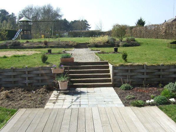 r sultat de recherche d 39 images pour jardin en palier jardin am nagement pinterest. Black Bedroom Furniture Sets. Home Design Ideas