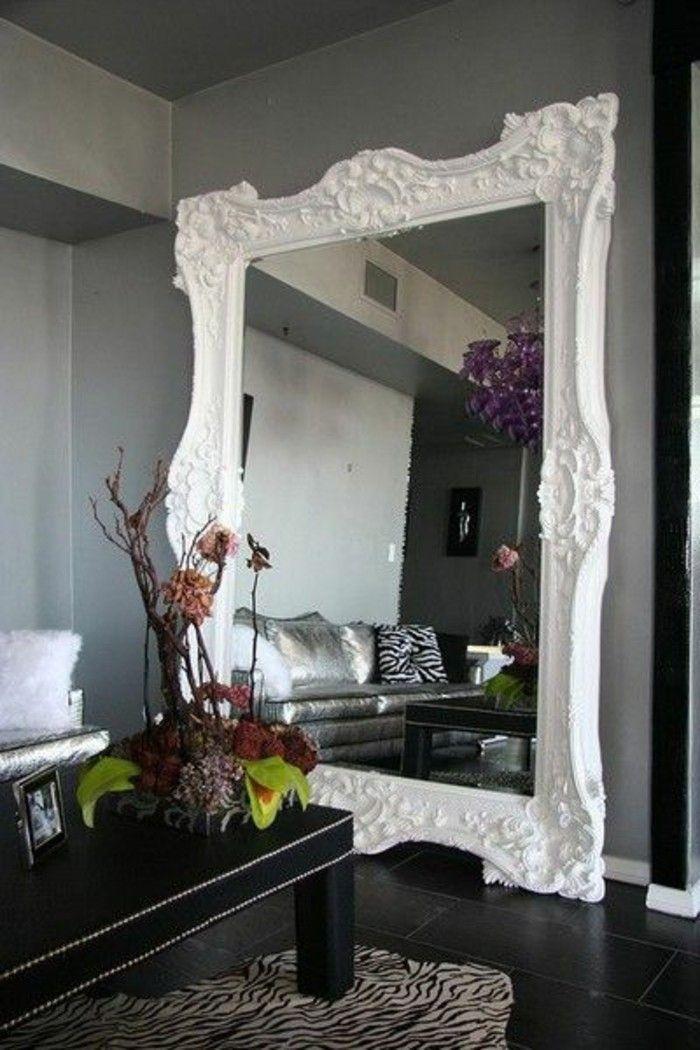 76 idées avec un miroir grand format | Grand format, Miroirs et ...