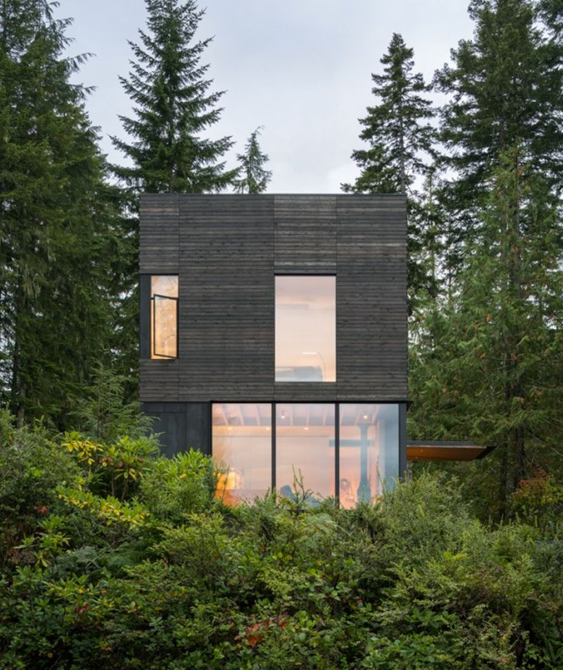 little house mw works architecture hood canal usa designboom 02 places spaces haus. Black Bedroom Furniture Sets. Home Design Ideas