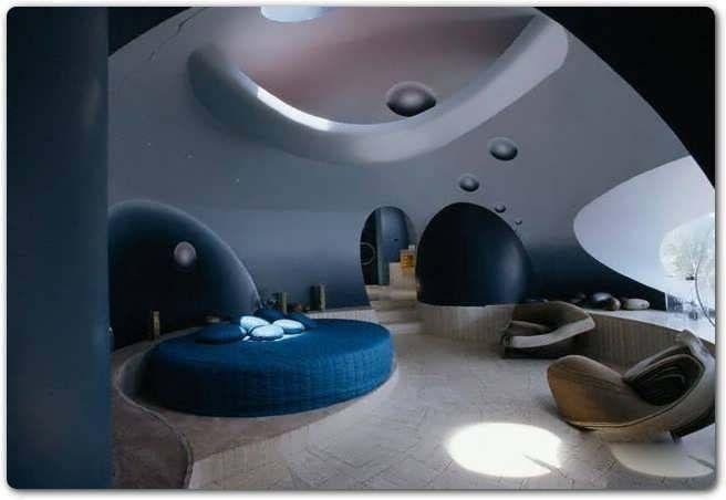 bedroom pics: futuristic interior design of bedroom planet theme