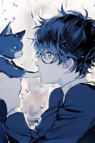 Cute Anime Wallpaper For Iphone 5 Di 2020 Animasi Persona 5