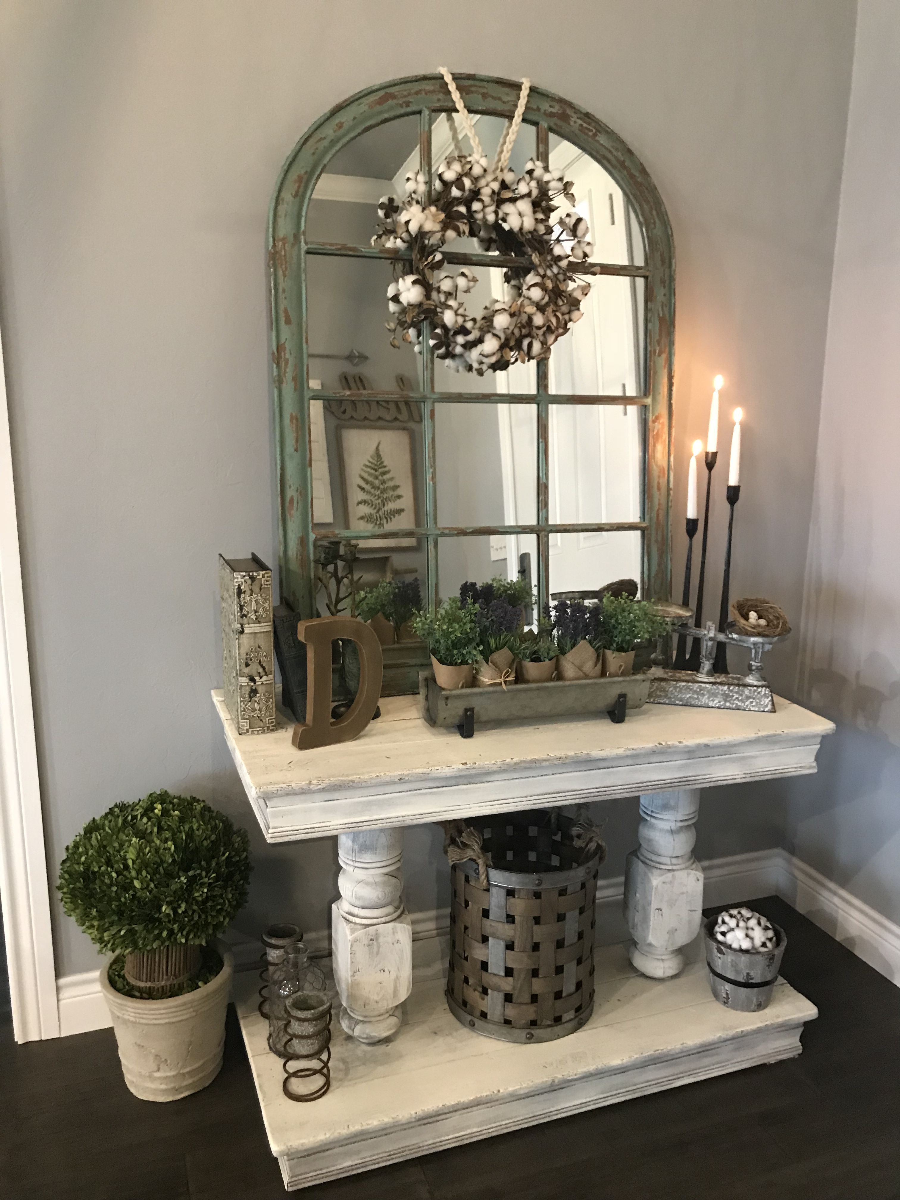 20 best entryway table ideas to greet guests in style on gorgeous modern farmhouse entryway decorating ideas produce a right one id=89798