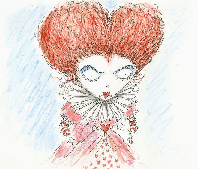 Red Queen concept art