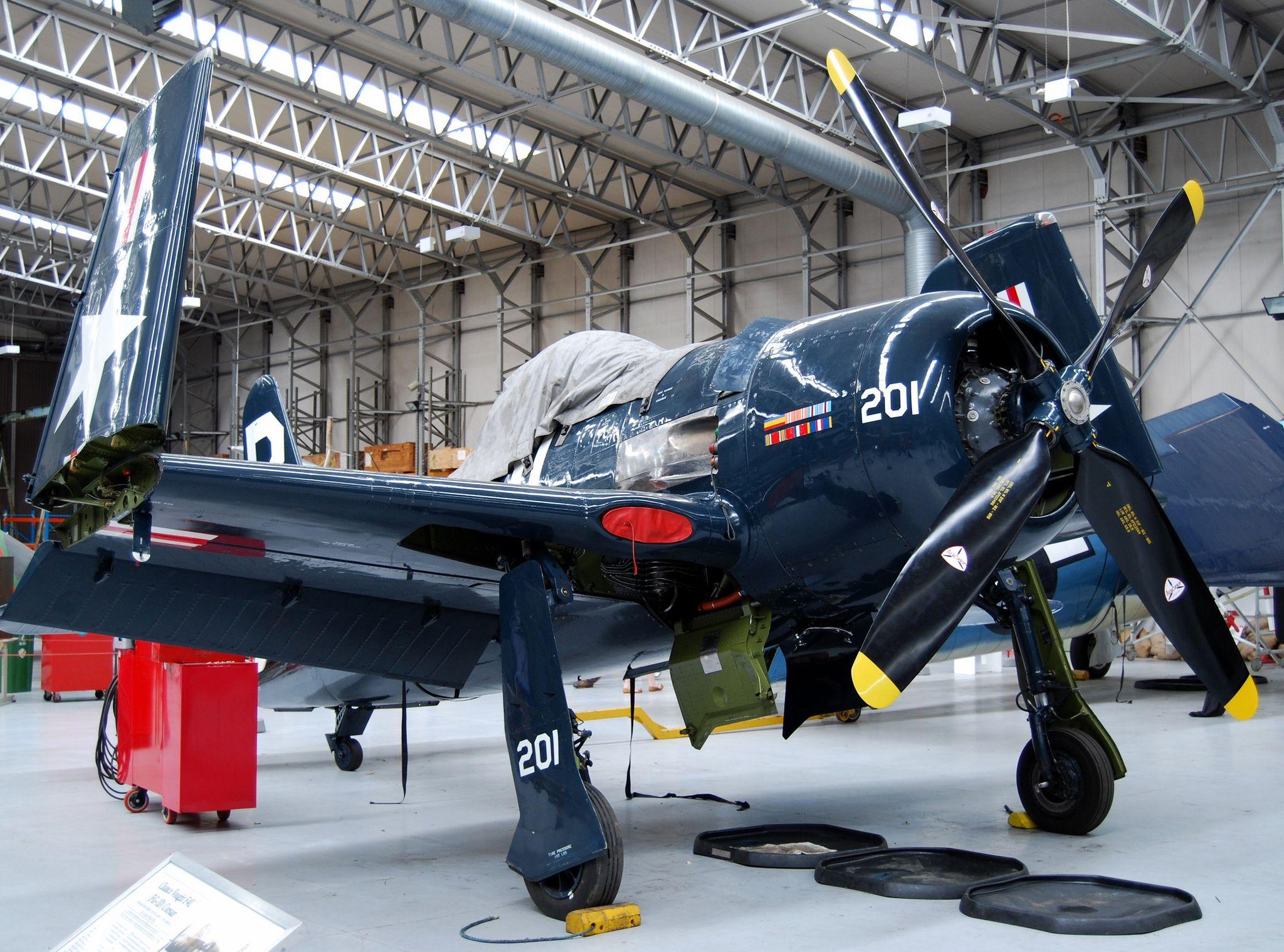 Grumman FF Bearcat Imperial War Museum Duxford Fighters - War museums in usa