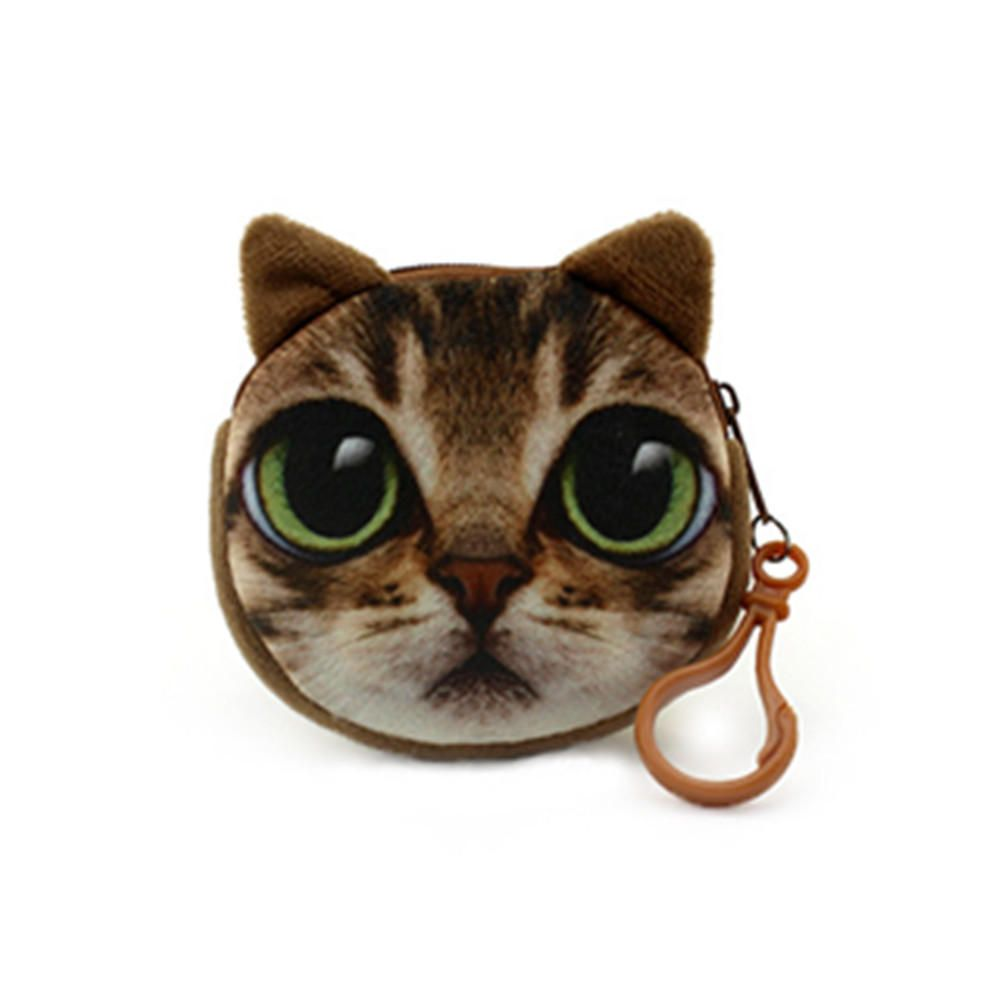Cute Animal Cat Stuffed Plush Toy Handbag Chain Doll Toy Gift Collection Cat Coin Purse Cat Plush Cute Cats [ 1000 x 1000 Pixel ]