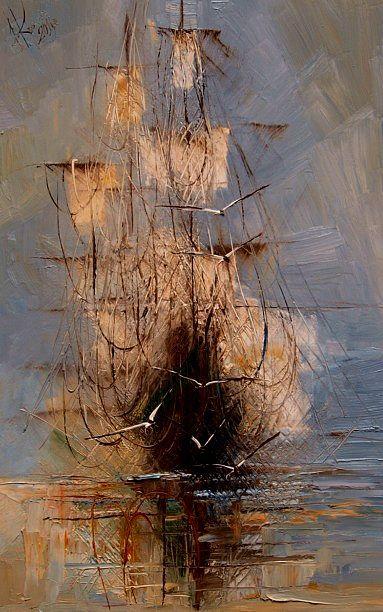 Marine painting I - Justyna Kopania