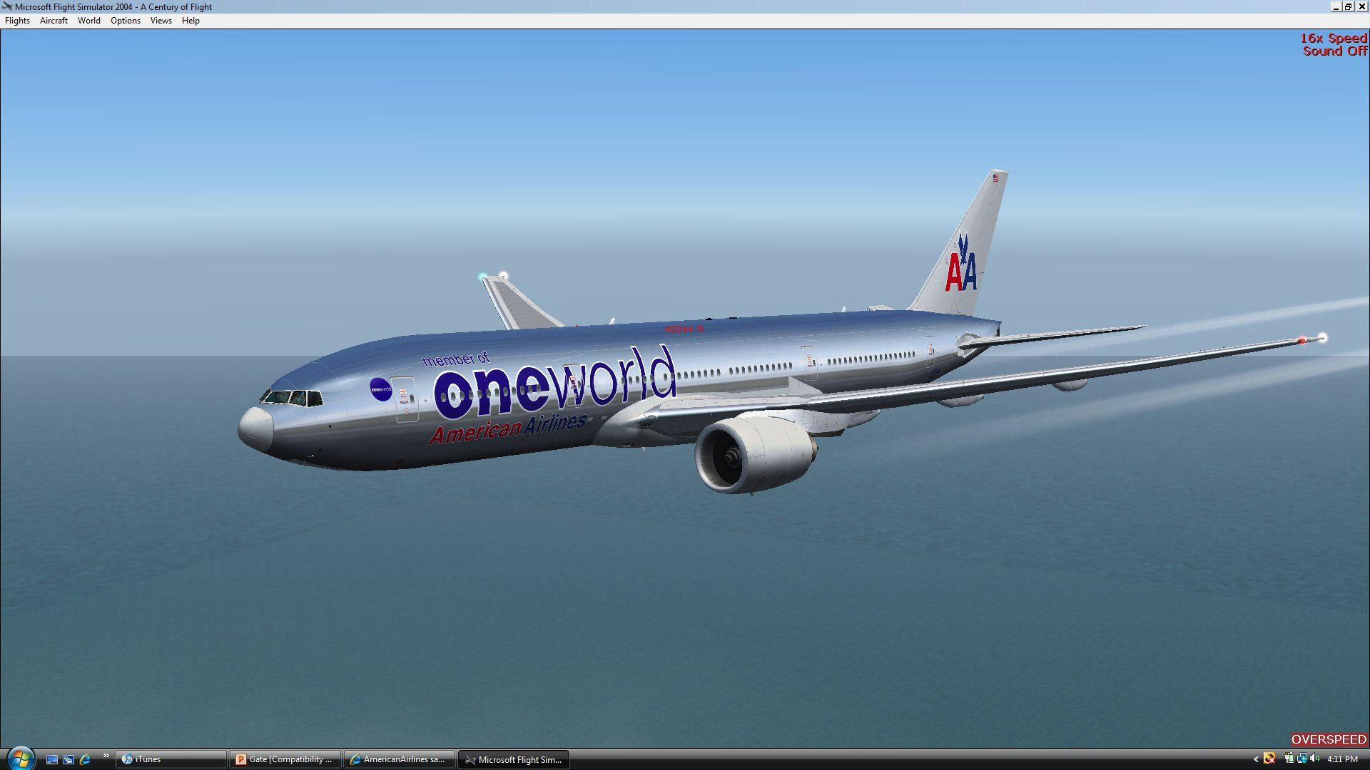 the oneworld 777 n791an cruising at 40 000 feet over the pacific rh pinterest com