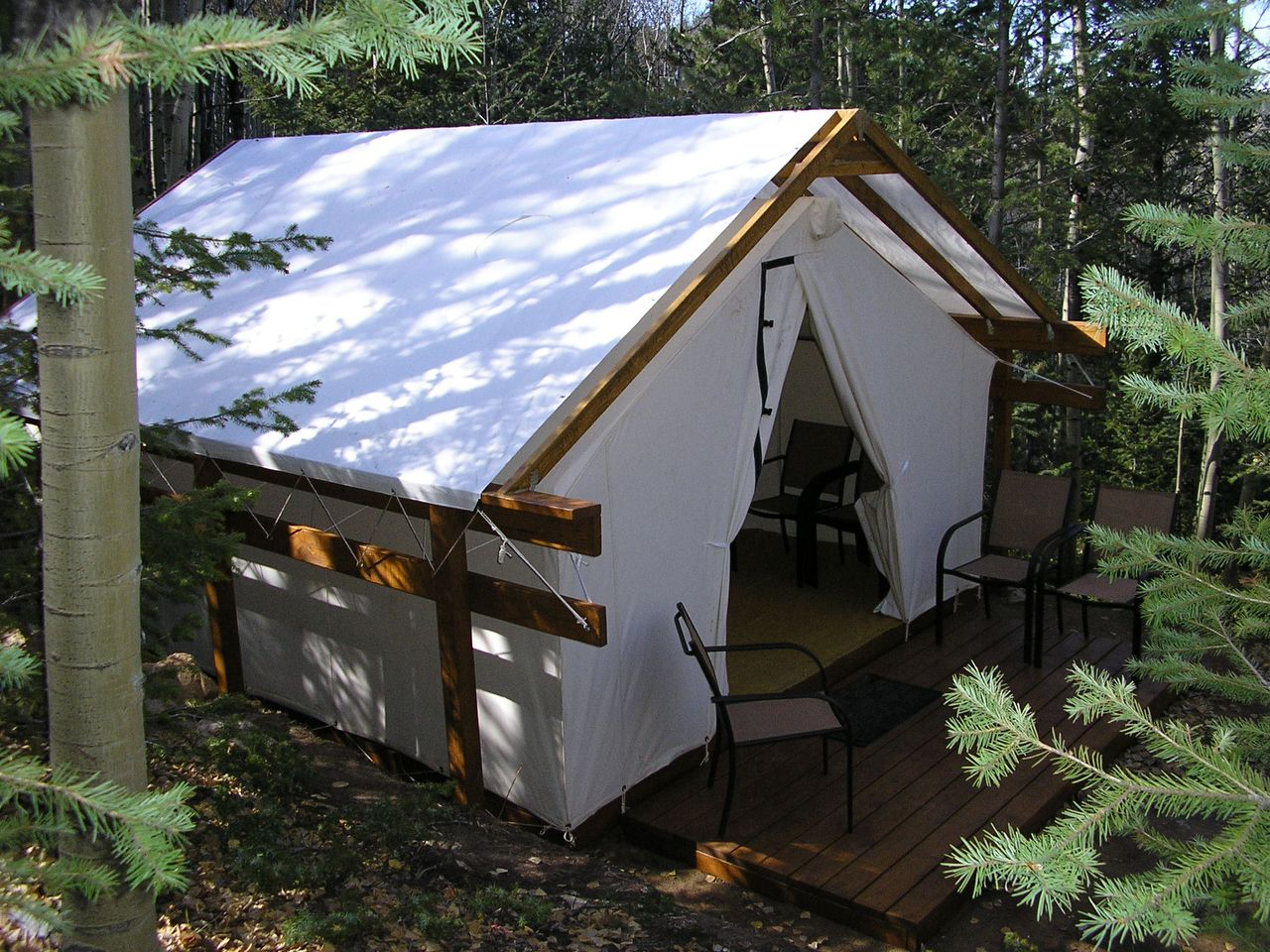 Gl&ing Tents For Sale - Gl&ing Canvas Tents - Davis Tent & Glamping | Davis Tent | Bamboo Furniture | Pinterest | Tents and ...