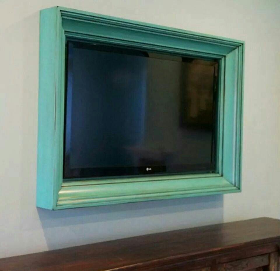Beautiful Framing Tv On Wall