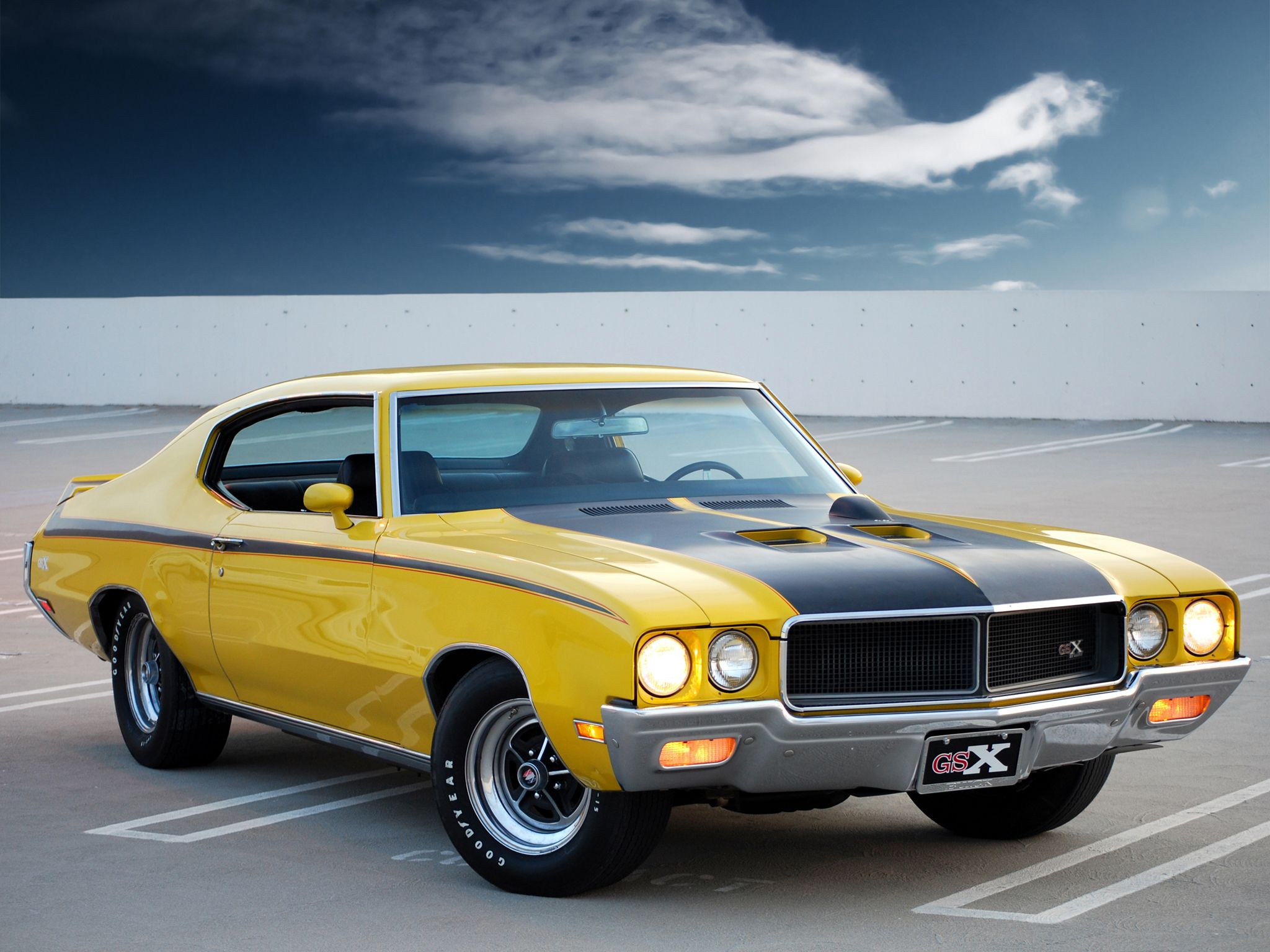 70 Buick GSX - Good things get better with age.   Old skool cool ...