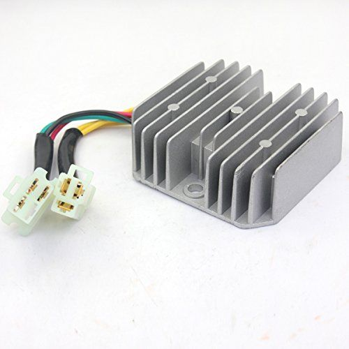 Wings Voltage Regulator Rectifier 6 Wires Gy6 50 150cc Scooter Chinese Moped Sunl Jcl 150cc Scooter 150cc Voltage Regulator