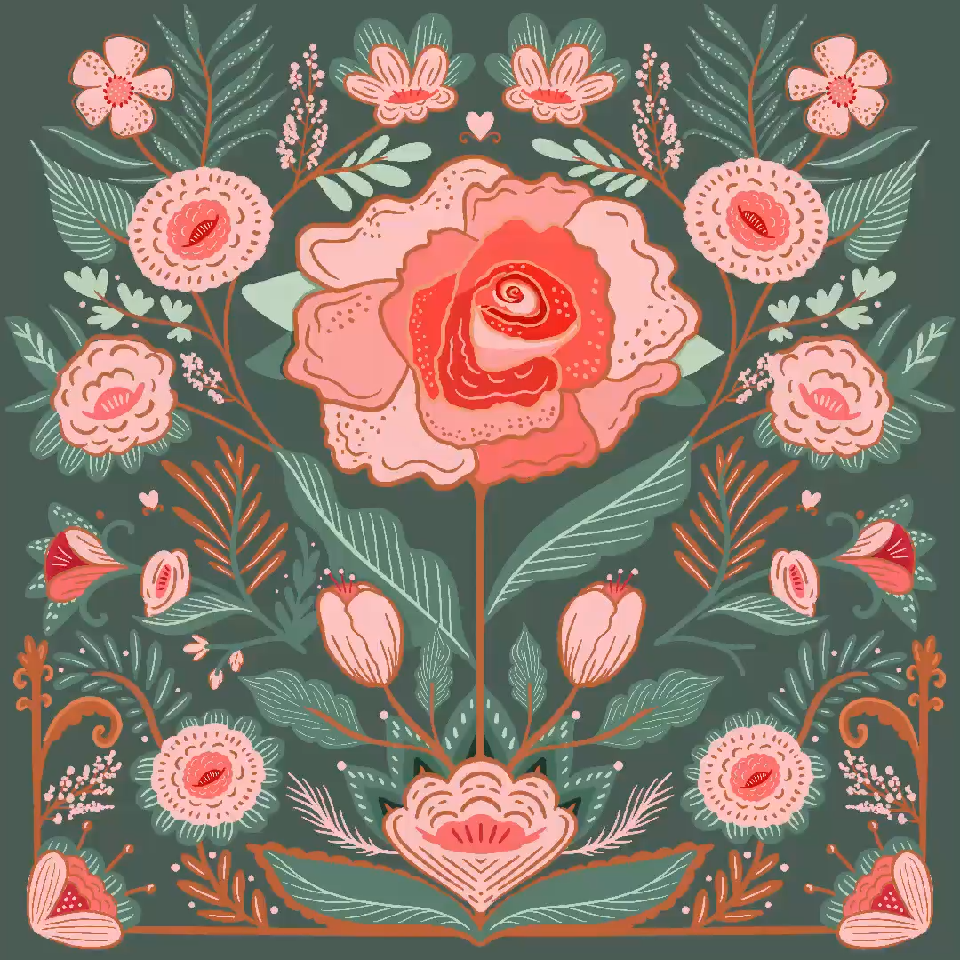 Back to the drawing board! Here's a peek at one of our floral illustrations we've created for some new upcoming designs. Florals are so fun to create! 🌸🌷💐🌺🌹 . Check out our designs and products at Moodthology.com . . #florals #floralillustration #womenwhodrawn #floralove, #floralpattern #workinprogess #timelapseillustration #draweveryday #drawoftheday #colordrawing #floweraddict #printandpattern #inspiredbyflorals #showyourwork #botanicalart #floralstories #artprocess #madewithprocreate