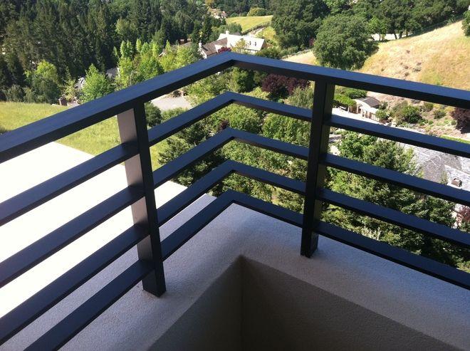 Aluminum Flat Bar - Deck Rail in 2019   Deck railings ...