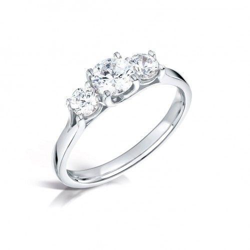 förlovningsring 3 stenar