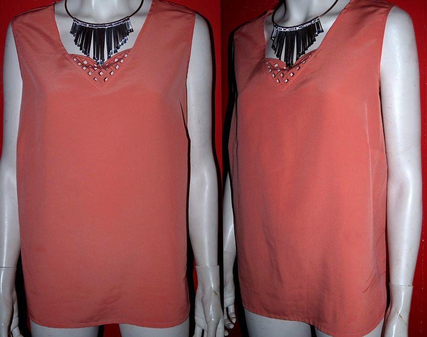 Elegancka Oryginalna Bluzka Kofral Azur Lato 48 50 4361961507 Oficjalne Archiwum Allegro Women S Top Fashion Tops