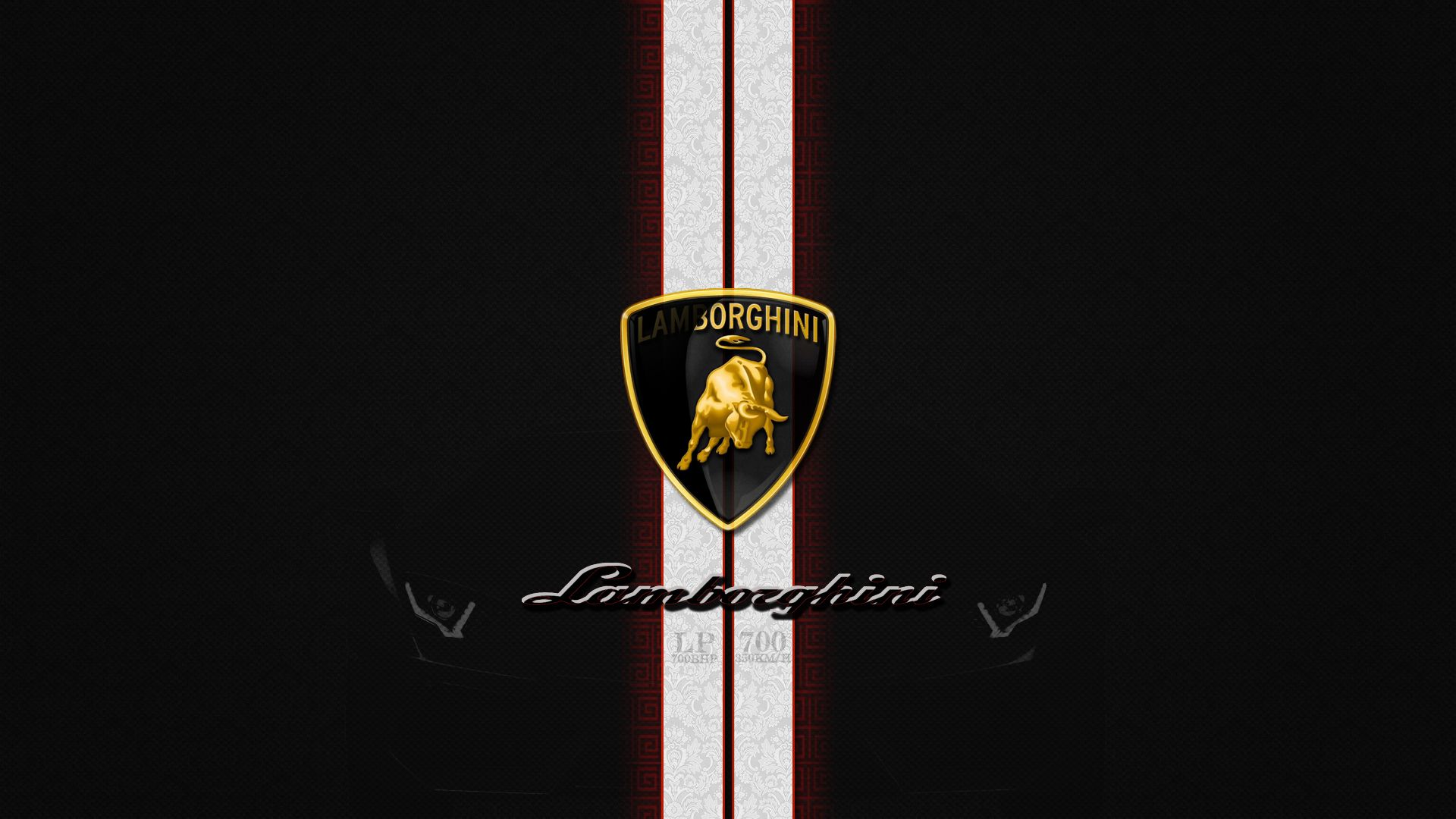 Best Lamborghini Logo Wallpaper Background