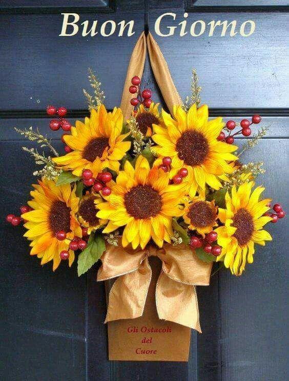 Immagini Buongiorno con i fiori
