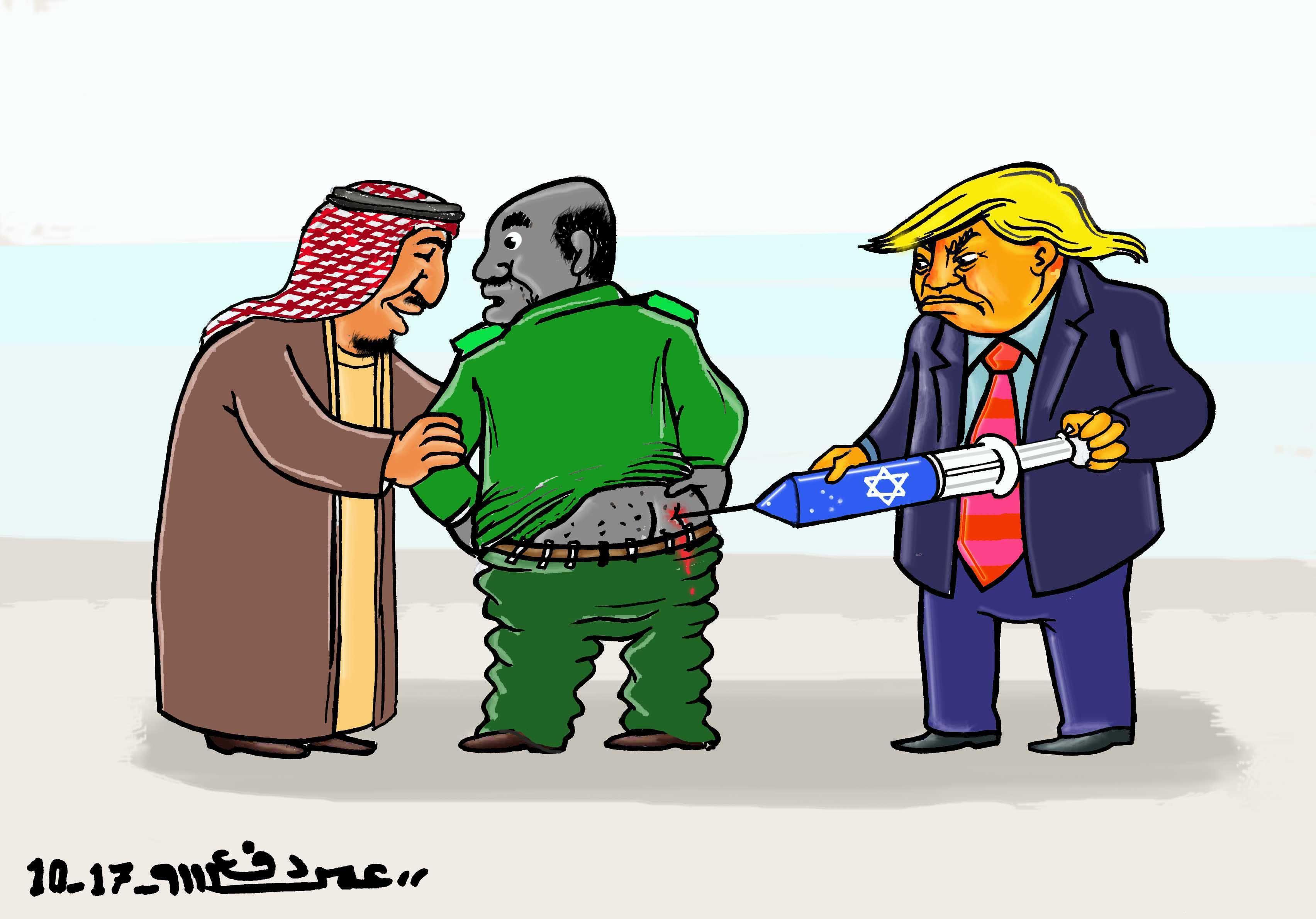 كاركاتير اليوم الموافق 13 أكتوبر 2017 للفنان عمر دفع الله