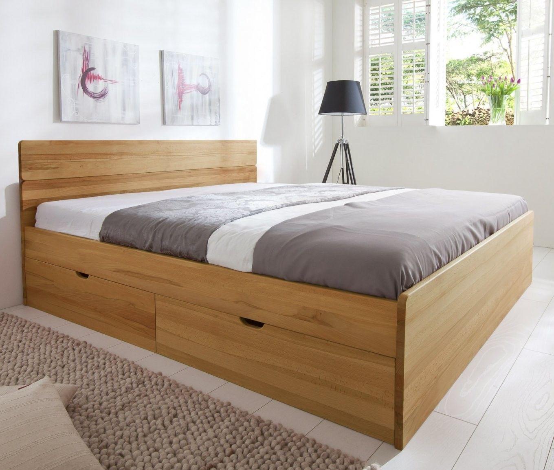 Bett Mit Schubkasten In Der Grosse 180x200cm In 2020 Bett Mit Aufbewahrung Bett 160x200 Bett 120x200