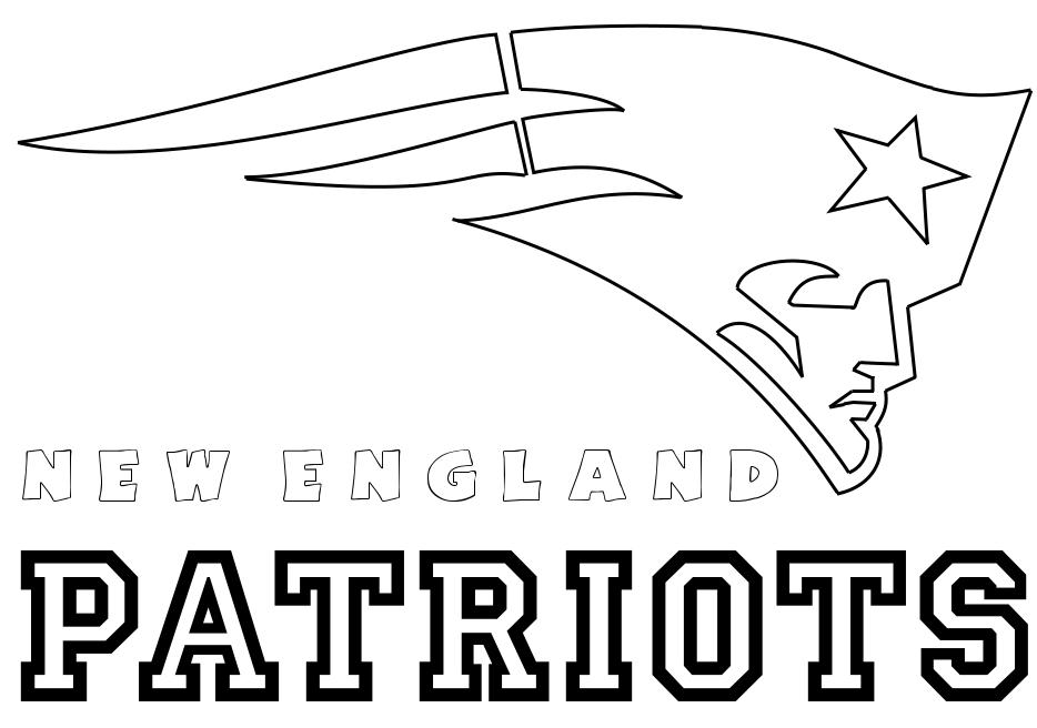 NE Patriots Coloring Pages Pinterest England