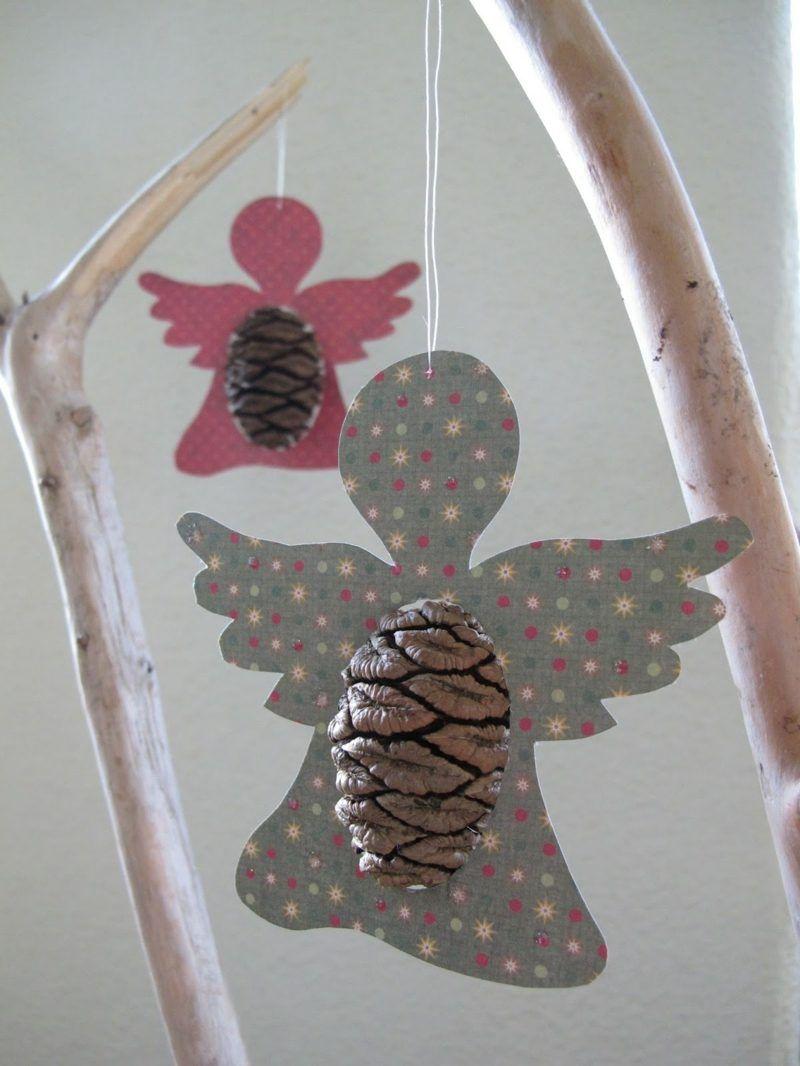 Basteln Mit Tannenzapfen Advent basteln mit tannenzapfen 50 diy ideen and craft