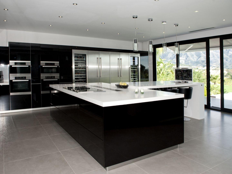 contemporary elegance villa nueva andalucia luxury kitchens cool kitchens luxury interior on kitchen interior luxury id=77726
