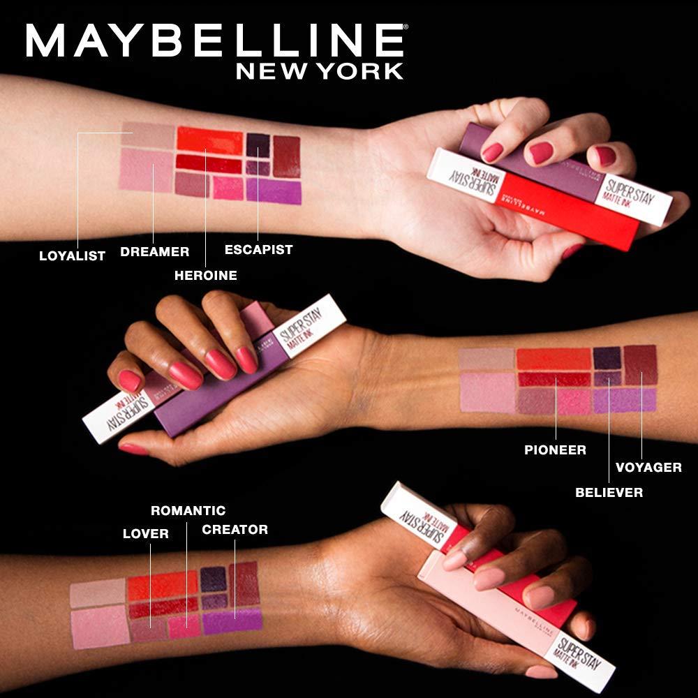 maybelline matte ink artistic vs beliver Buscar con