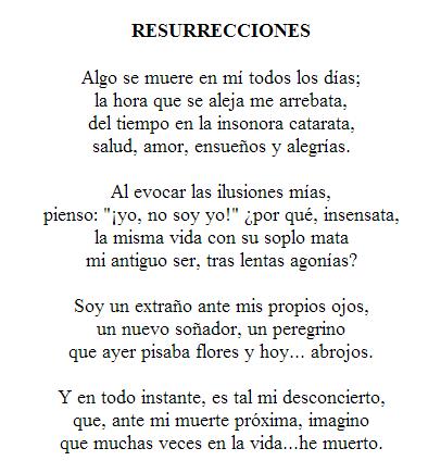 Resurrecciones.  Julio Florez  http://www.los-poetas.com/k/julio1.htm#Resurreciones