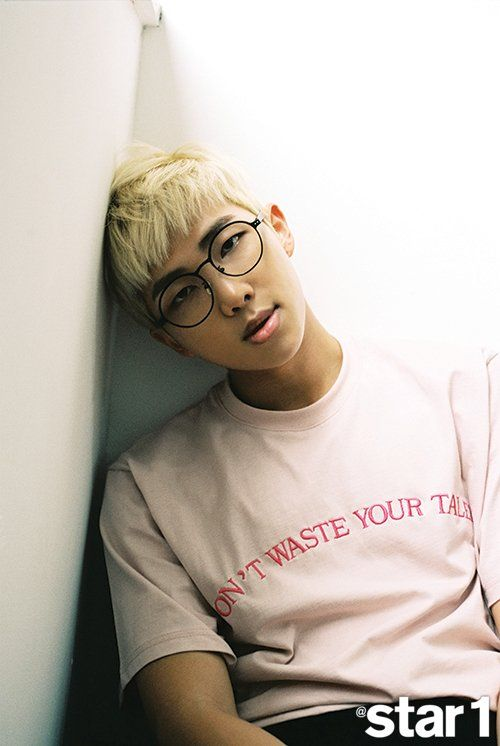 Rap Monster is more photogenic the I'll ever be.