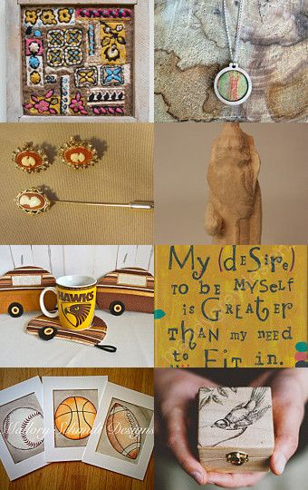 Fall  Surprises by Carolyn Jacobsen on Etsy--Pinned with TreasuryPin.com