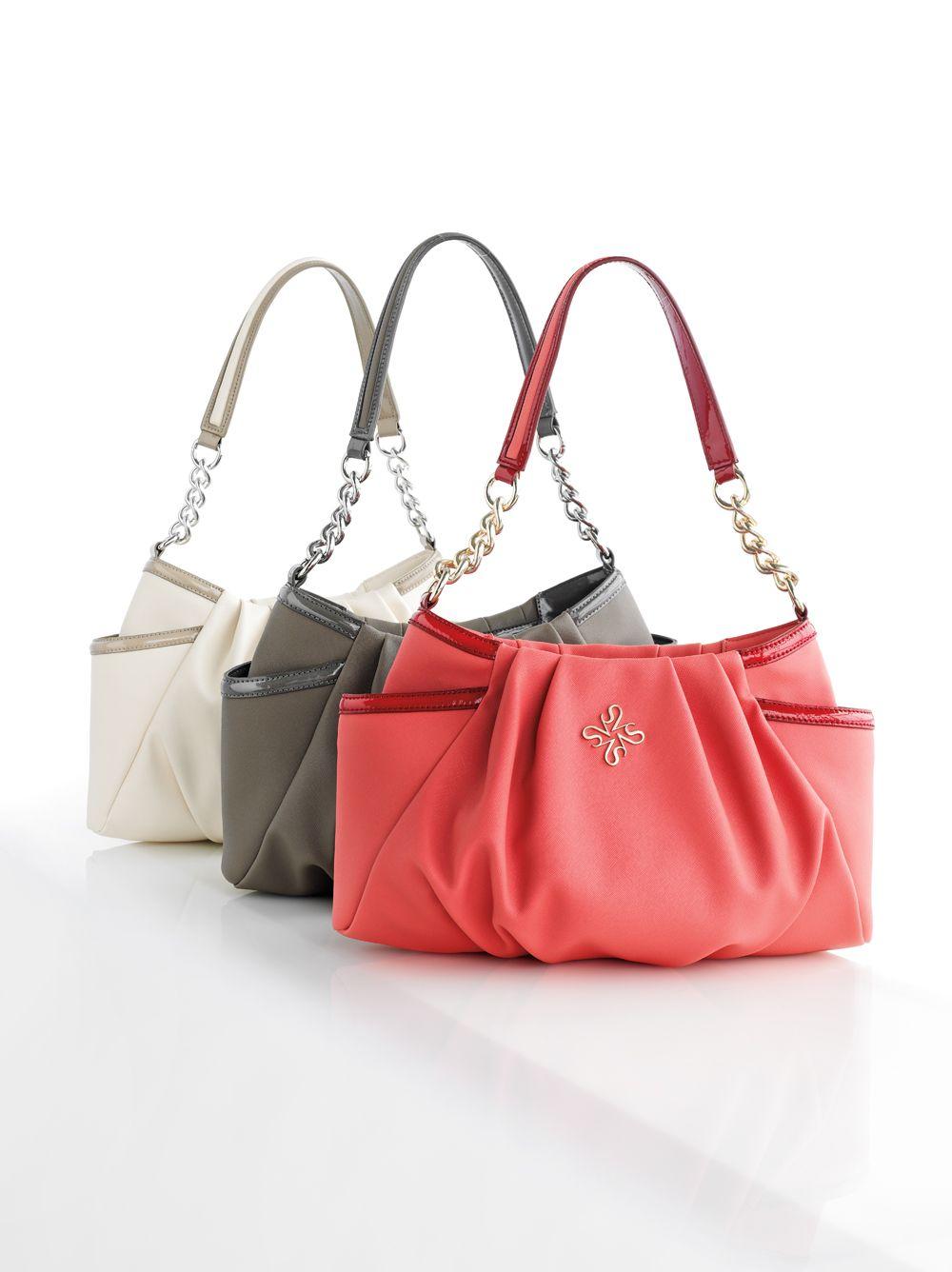 New Women Simply Plain Classic Designe Top-Handle Bag Crossbody Shoulder Handbag
