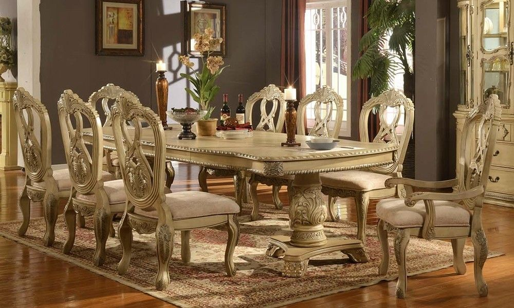Formal Dining Room Table Bases  Something To Think About Awesome Formal Dining Room Set Decorating Design