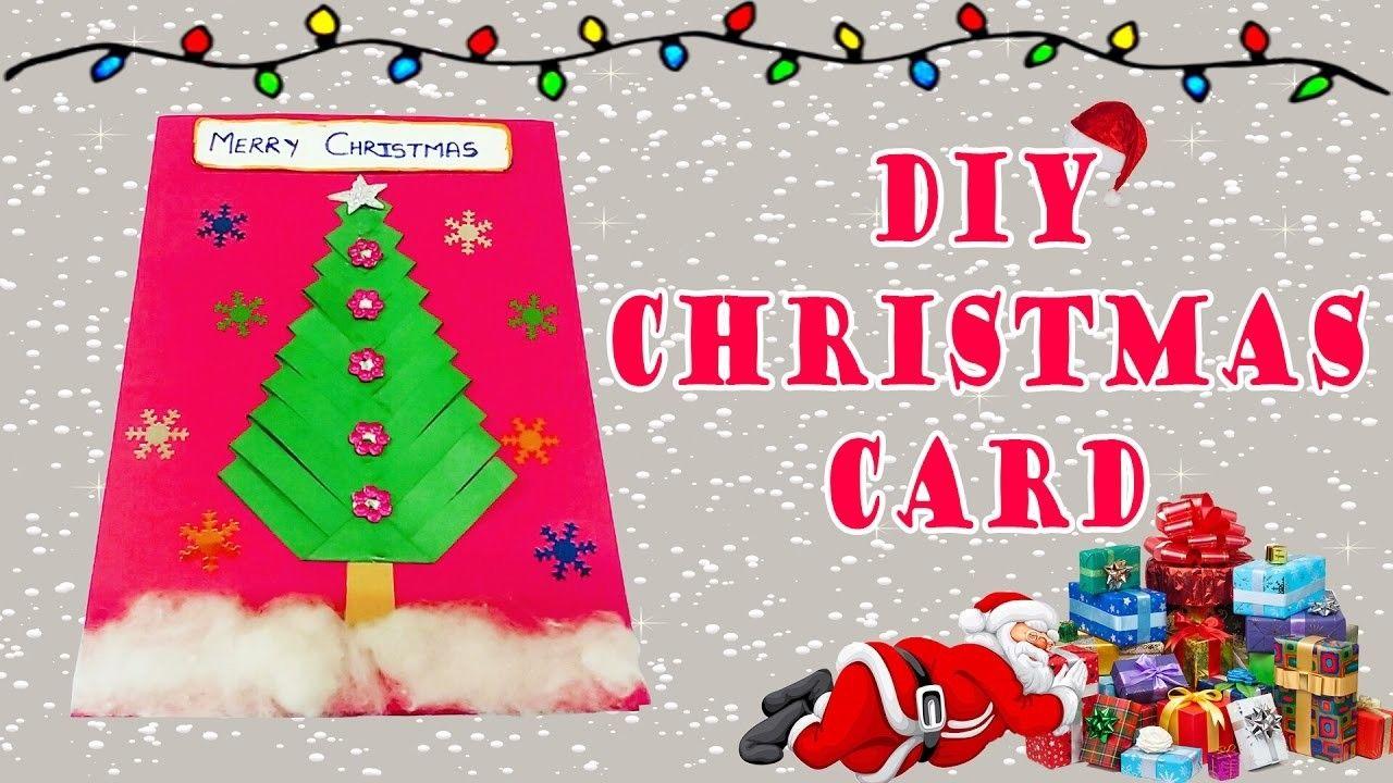 Diy Christmas Card Christmas Greeting Cards Diy Christmas And Crafty