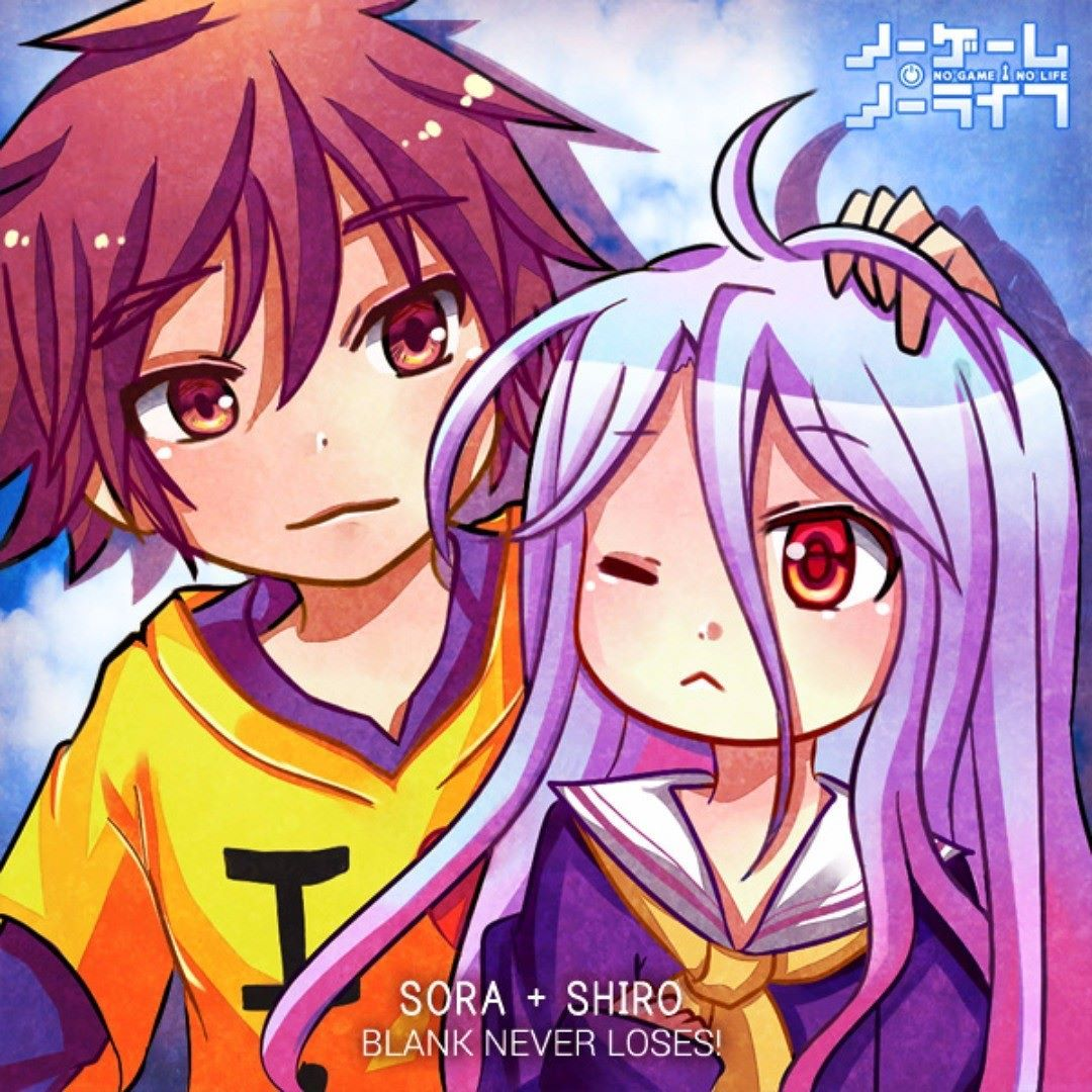 2015 sora and shiro from nogamenolife i m going to be serious