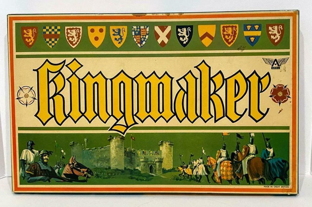 Details about Kingmaker Board Game Ariel 1974 England War
