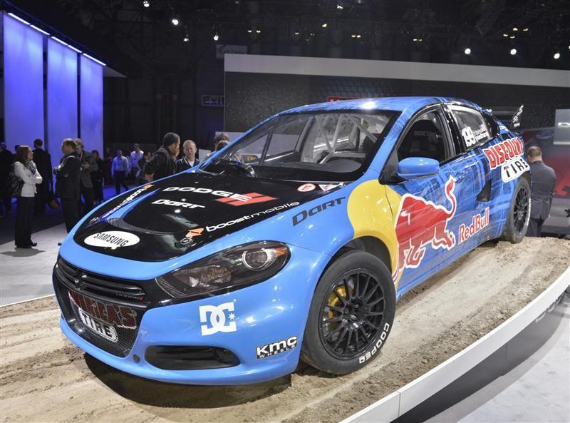 2017 Dodge Dart Rally Car