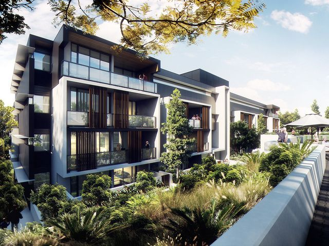 The Village @ Coorparoo, Brisbane - Retirement Village by S3 Architects    Building 2 artist impression - under construction