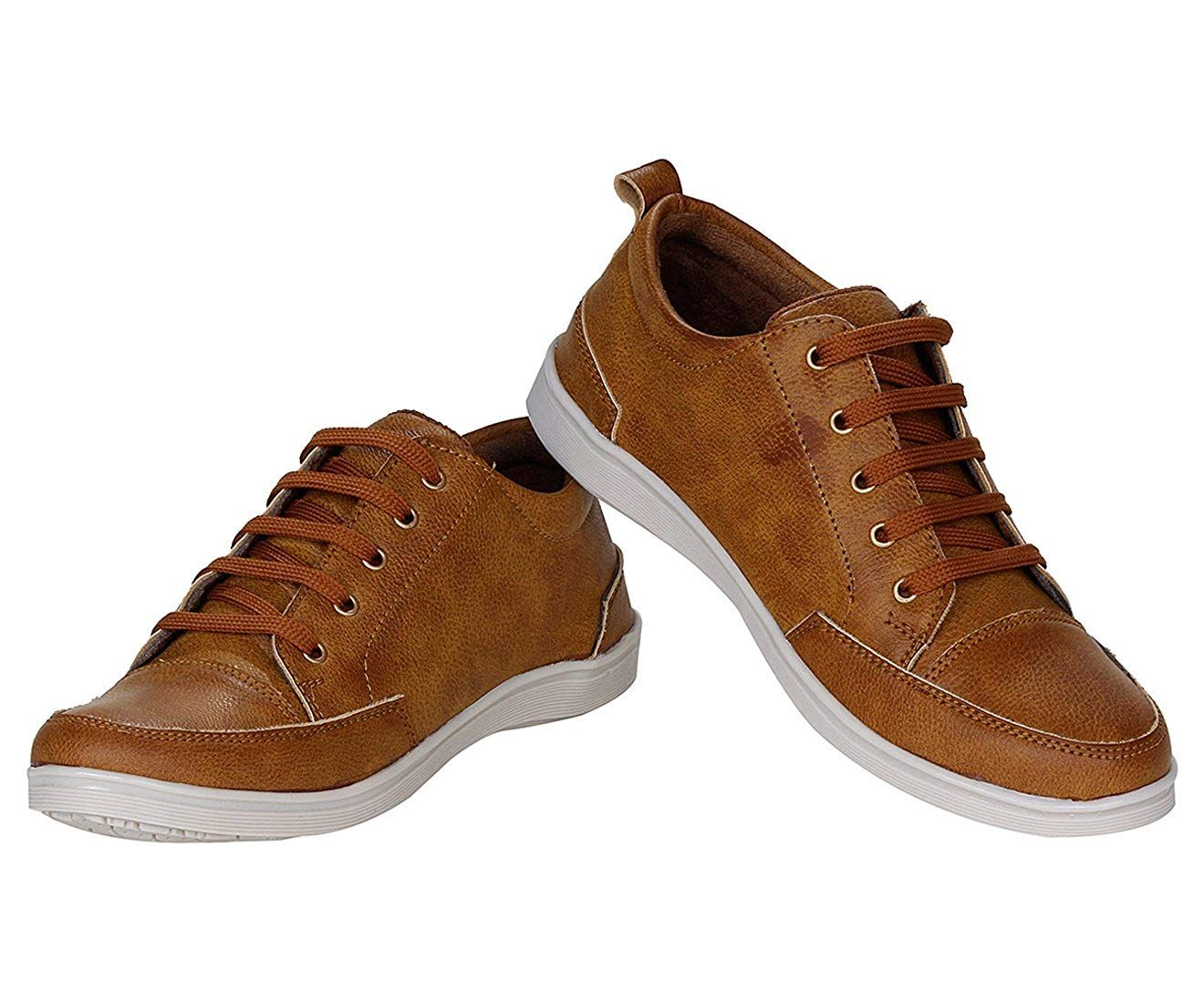 333165b0ef14c Kraasa Men's Faux Leather Sneaker: Buy Online at Low Prices in India ...
