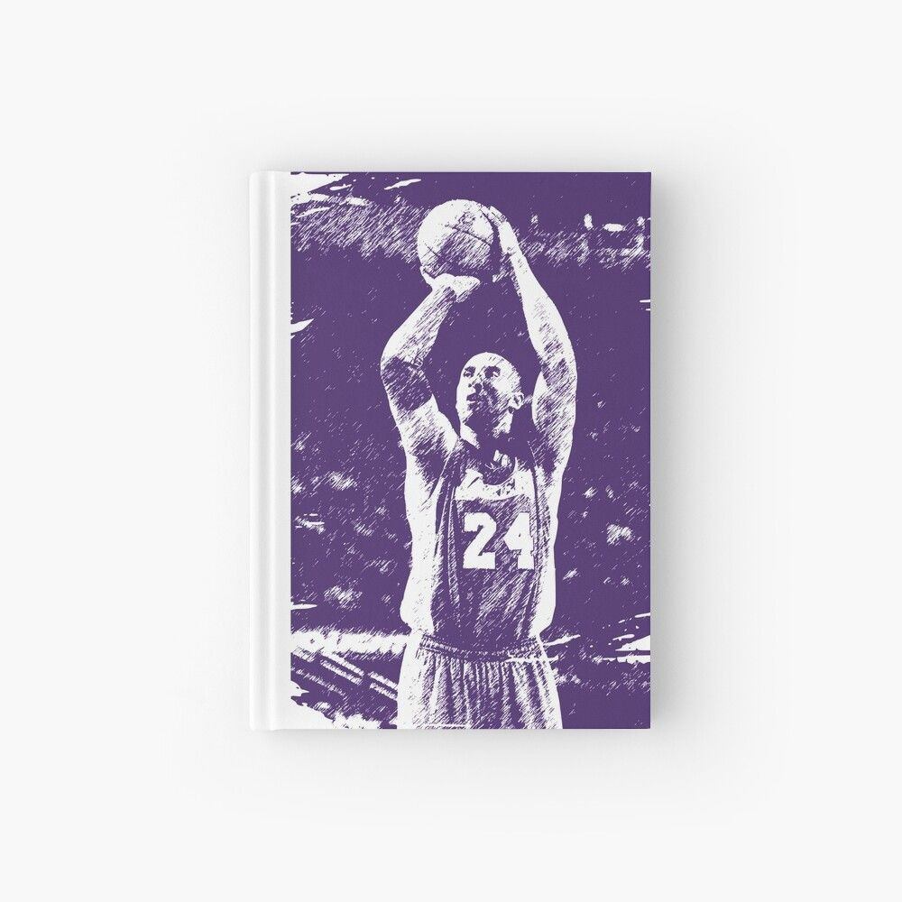 'Remember the basketball legend, violet style' Hardcover