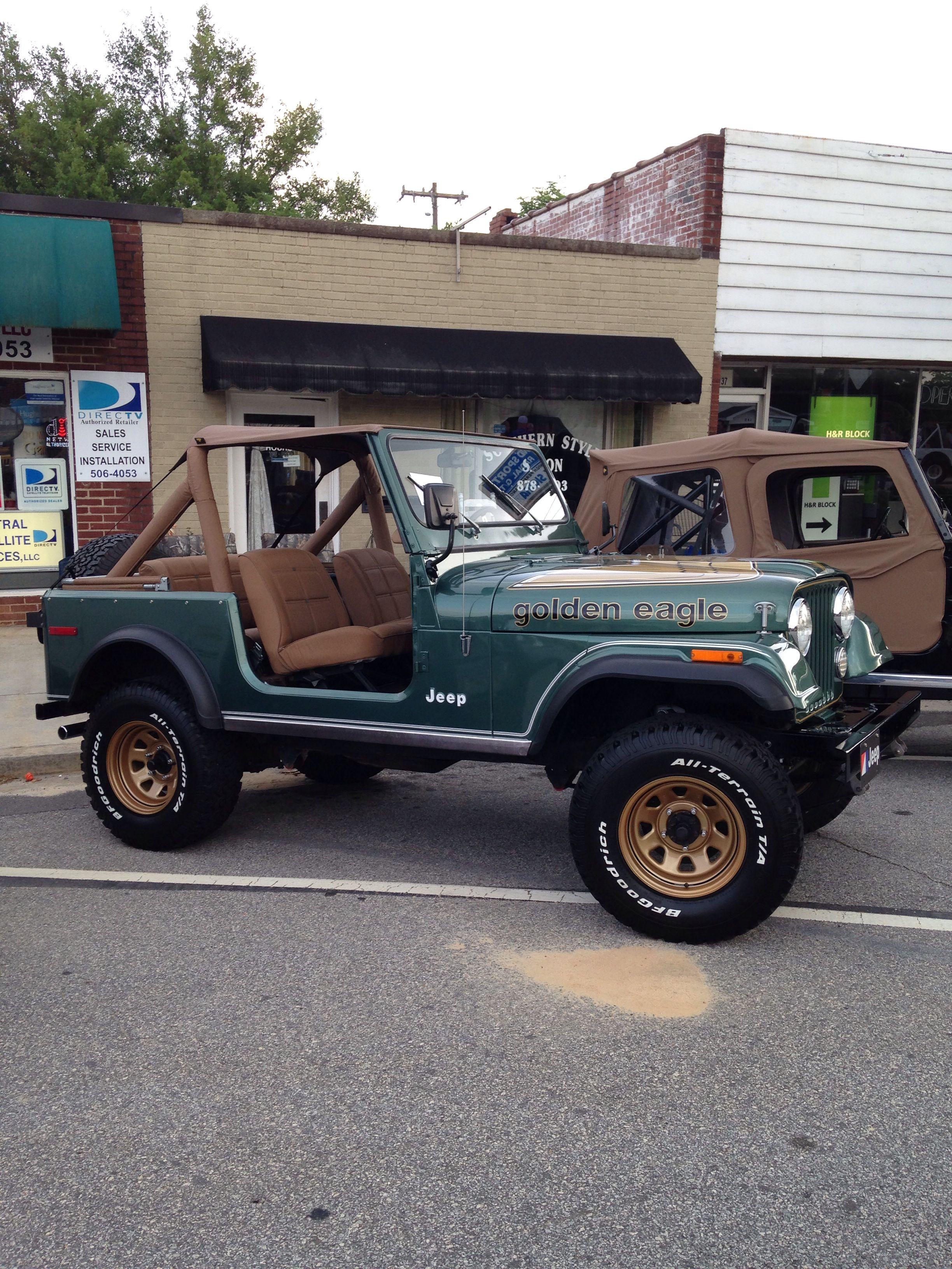 Golden Eagle Jeep Cj Jeep Cj7 Jeep Cj5