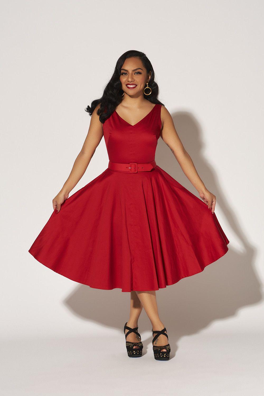 Havana Nights Vintage Dress in Red | Fashion! | Pinterest