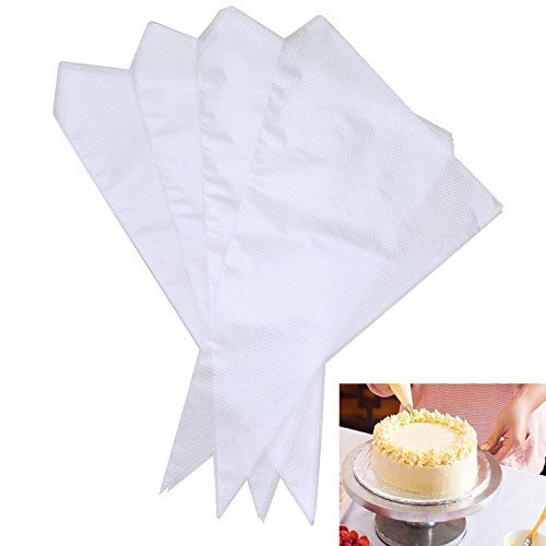 Icing Bags Yookat 100pcs 13 Inch Disposable Icing Bags Piping Bag Cake Decorating Bags For Cakes Cupcakes Cookie With Images Chocolate Cupcakes Cupcake Cookies Cake Piping