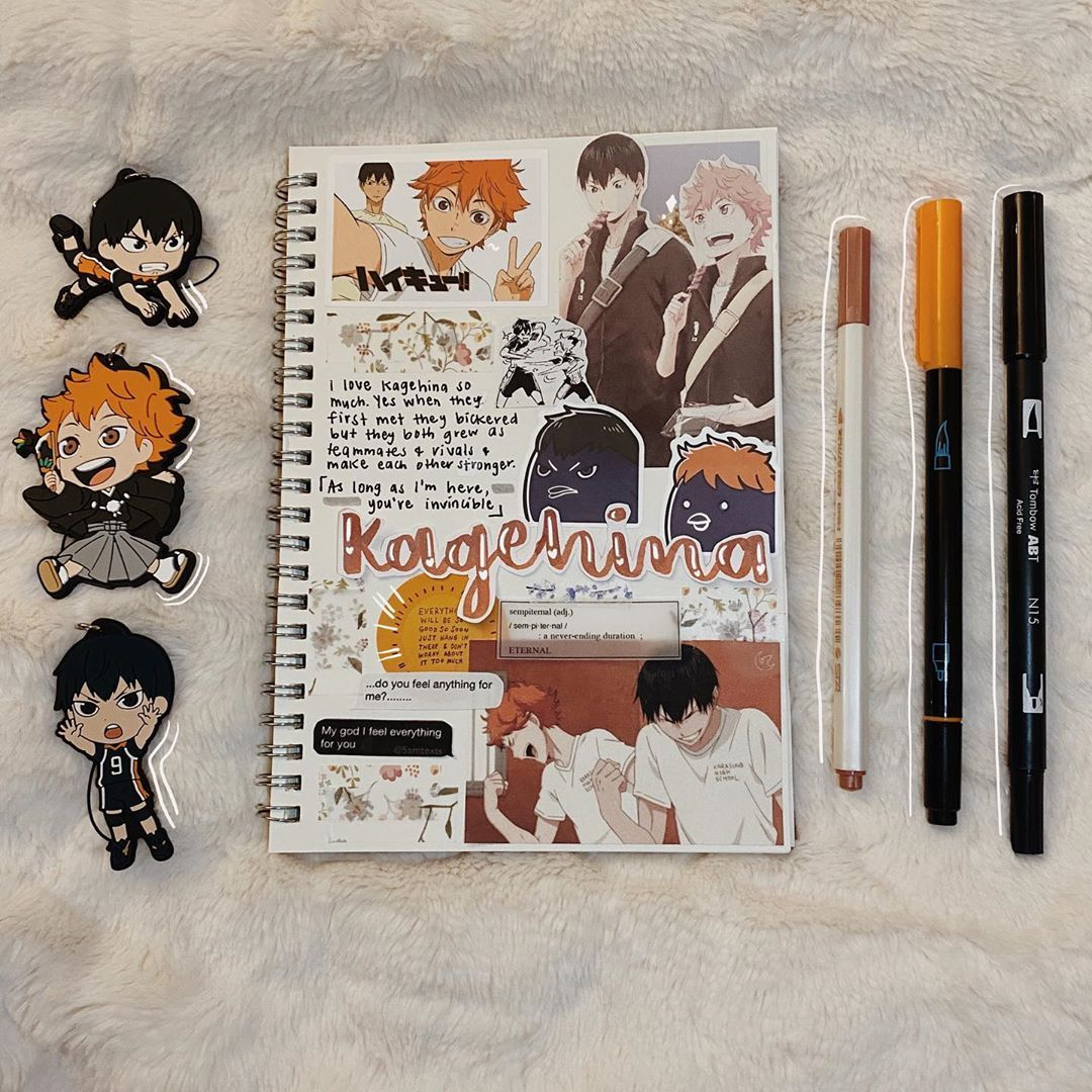On Instagram Helllooooo It Is Haikyuu Time Every Day Now O Also Disclaimer I Ve Been Seeing On T In 2020 Bullet Journal Themes Anime Book Bullet Journal Japan