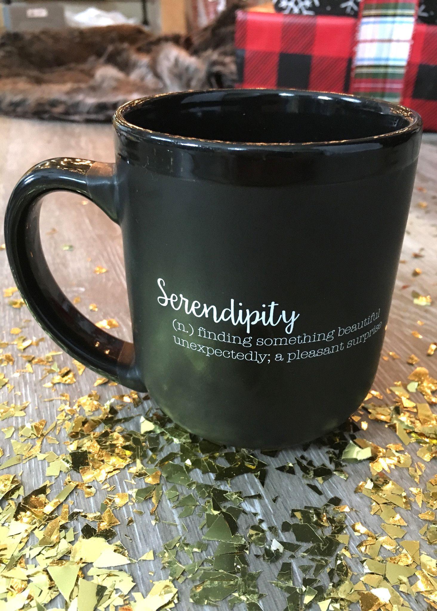 Serendipity Coffee Mug Coffee mugs, Mugs, Coffee obsession